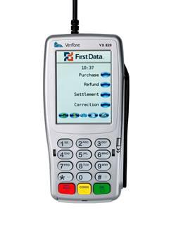 Point of Sale Credit Card Terminal and Equipment